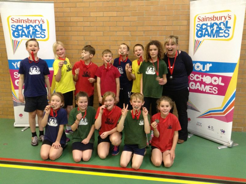 Sports Hall Athletics - 3rd place!